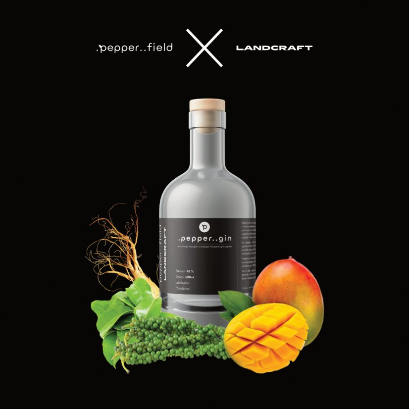 Limited .pepper..gin in a wooden box + 6x .pepper..tonic