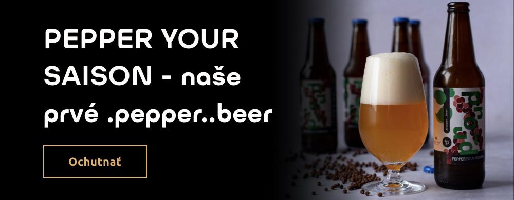 pepper..beer.